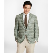 Regent Fit Plaid with Multi-Windowpane Sport Coat