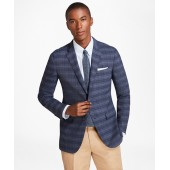 Milano Fit BrooksCool Plaid with Windowpane Sport Coat