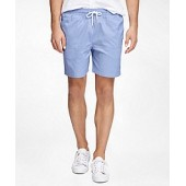 Montauk 6 Oxford Swim Trunks