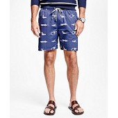 Montauk 6 Nautical Knot Swim Trunks
