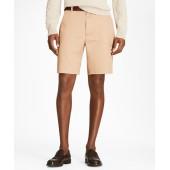 Plain Front Stretch Advantage Chino Shorts