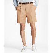 Pleat Front Stretch Advantage Chino Shorts