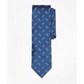 Sailors Knot Jacquard Silk Tie