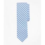 Large Gingham Seersucker Tie