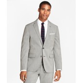 Houndscheck Wool Suit Jacket