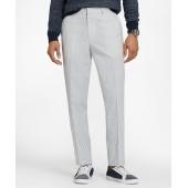 Cotton Seersucker Trousers