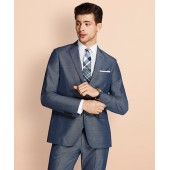 Cotton-Mohair Two-Button Suit Jacket