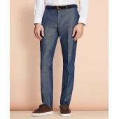 Cotton-Mohair Suit Trousers