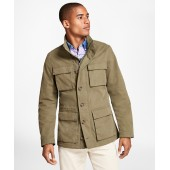 Washed Canvas Field Jacket