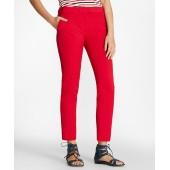 Double-Face Cotton-Blend Pants