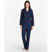 Tartan Cotton Flannel Pajama Set