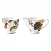 Wedgwood Garden Floral Cream and Sugar