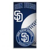 MLB San Diego Padres 30-Inch x 60-Inch Beach Towel