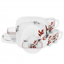 Corelle Kyoto Leaves 16-Piece Dinnerware Set