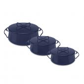 Dansk Kobenstyle Casserole Dish in Blue