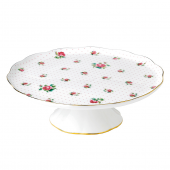 Royal Albert Cheeky Pink Roses Cake Stand