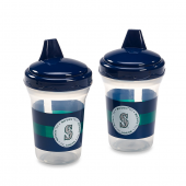 Baby Fanatic MLB 2-Pack 5-Oz. Seattle Mariners Sippy Cups