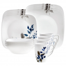 Corelle Boutique Kyoto Night 16-Piece Dinnerware Set