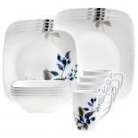 Corelle Boutique Kyoto Night 16-Piece Dinnerware Set
