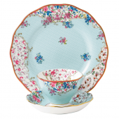 Royal Albert Candy Sitting Pretty 3-Piece Place Setting