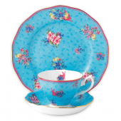 Royal Albert Candy Honey Bunny 3-Piece Place Setting