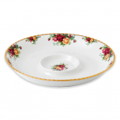 Royal Albert Old Country Roses Chip and Dip