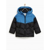 BLOCK COLOR PUFFER JACKET