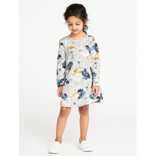 French-Terry Sweatshirt Dress for Toddler Girls Hot Deal