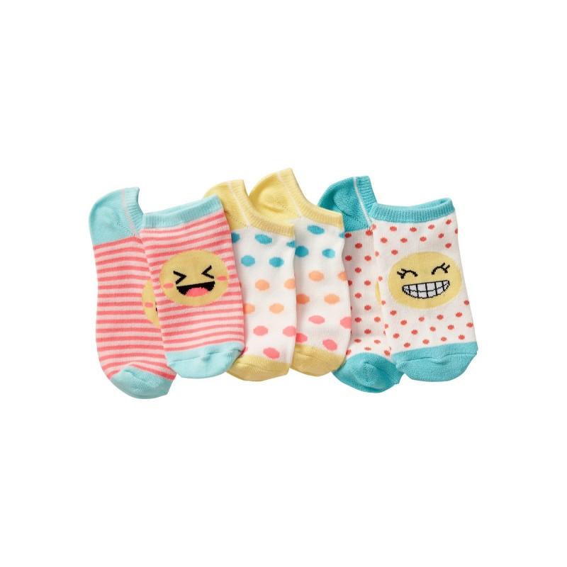 Emoji Ankle Socks (3-Pack)