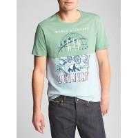 Colorblock Graphic T-Shirt