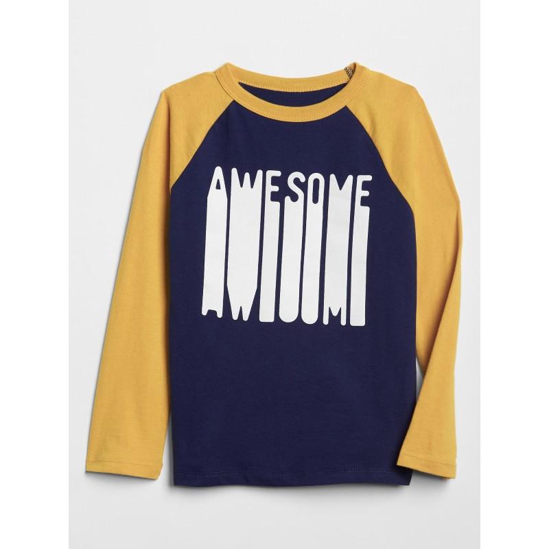 Graphic Raglan T-Shirt