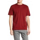 Basic Short Sleeve Premium Fit Henley