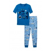 Shark Pajama Set (Toddler & Little Boys)