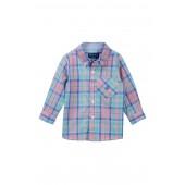 Pastel Plaid Shirt (Baby Boys)