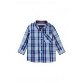 Blue Plaid Shirt (Baby Boys)