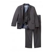3-Piece Pinstripe Print Suit (Toddler Boys)