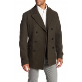 Camiel Double Breasted Peacoat