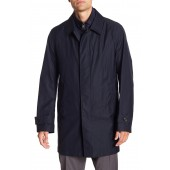 Wool Blend Coat & Insulated Vest