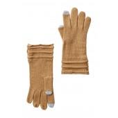 Ottoman Stitch Button Gloves