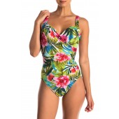 Belle Rives Printed One-Piece Swimsuit