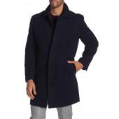 Wool Blend Topper Overcoat