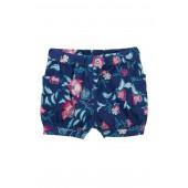 Kyoto Blooms Cargo Shorts (Toddler Girls)