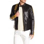 Mashburn Blouson Black Leather Jacket