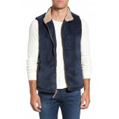 Double Up Pebble Pile Faux Fur Vest