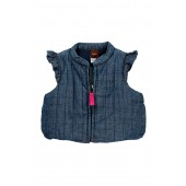 Citizen Chambray Zip Vest (Baby Girls)