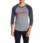 Benchwarmer 3/4 Length Sleeve Baseball Tee