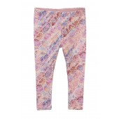 Red Mallee Floral Leggings (Baby Girls)