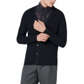 Slim Fit Textured Cardigan