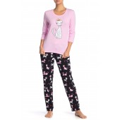 Cuddly Critters Pajama Top & Pant Set