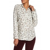 The Everyday Floral Linen Blend Shirt